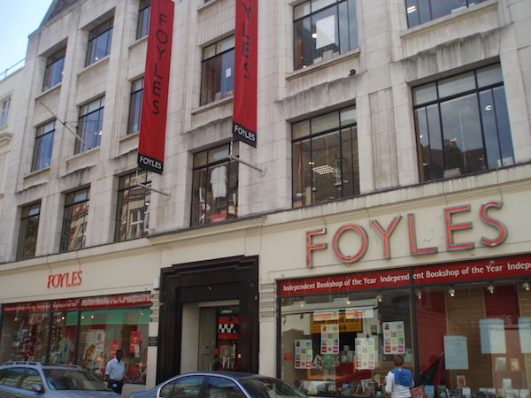 Foyles bookstore, London, UK
